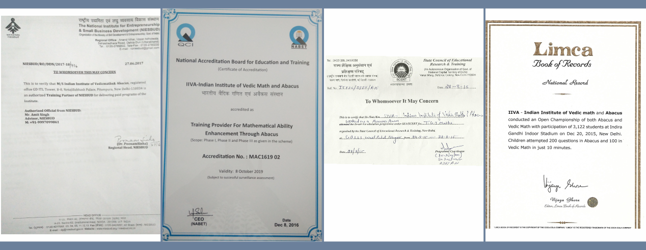 IIVA – Indian Institute of Vedic Maths & Abacus